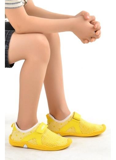 Vicco Vicco 223.18Y.656-57 Aqua Havuz Plaj Kız/Erkek Çocuk Deniz Ayakkabısı Sarı